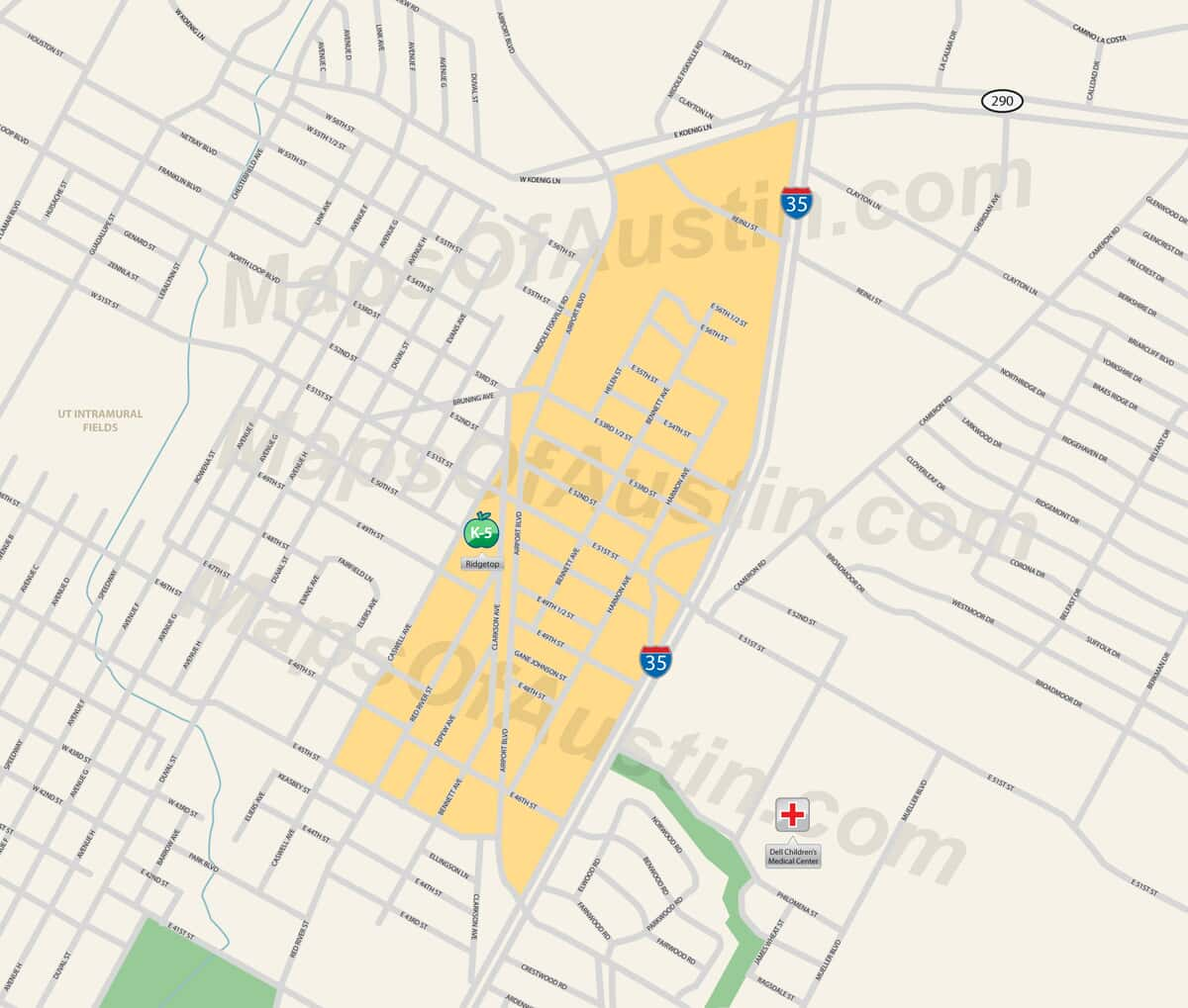 Ridgetop Austin, TX - Ridgetop Neighborhood in Austin | Maps ... on texas austin, fox news austin, halloween austin,